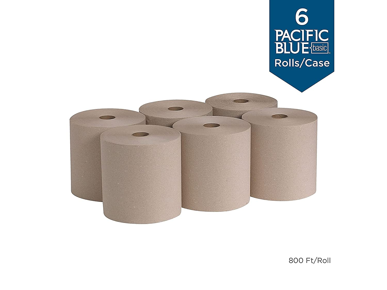 Brown *New* WH-Boc247 Paper Towel Rolls Pack of 5
