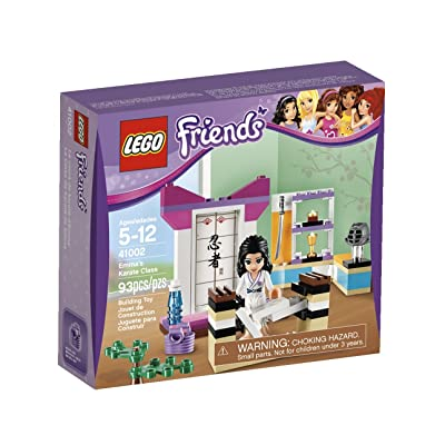 LEGO Friends Emma Karate Class 41002: Toys & Games