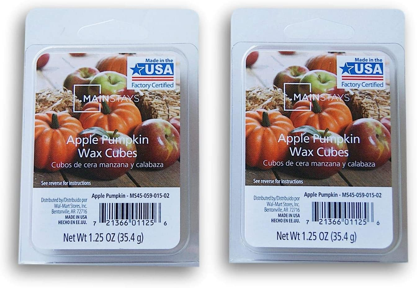Winter Scents Wax Cubes Bundle - Apple Pumpkin