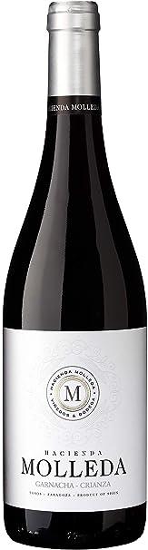 Caja de 6 botellas de vino de crianza seleccion de 3 de vinos premiados: FINCA LA MATEA garnacha 2014,GRAN HACIENDA MOLLEDA garnacha + cariñena ...
