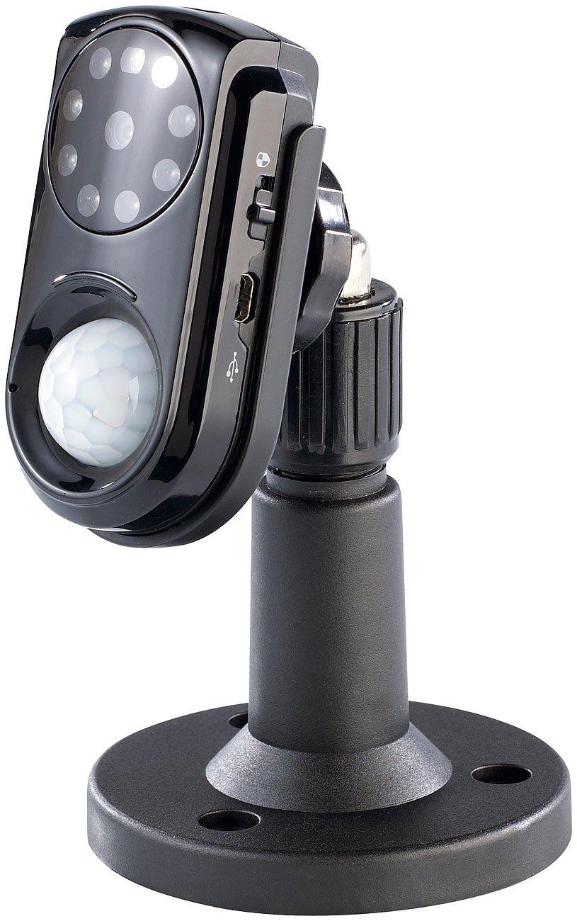 VisorTech PX-1767-675 GSM - Cámara de vigilancia con sensor PIR, visión nocturna y micrófono (importado): Amazon.es: Electrónica