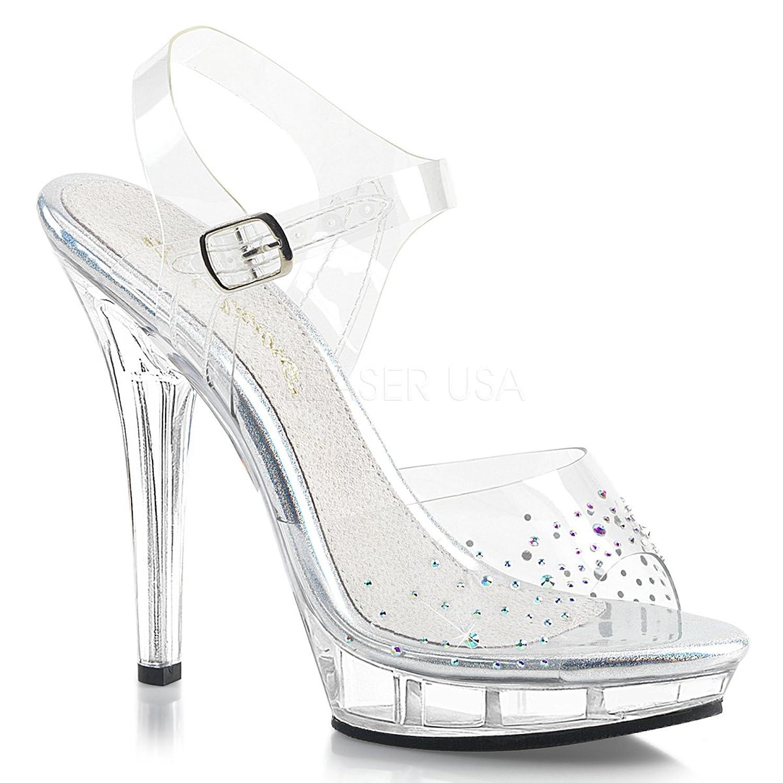 Fabulicious Womens Lip183 Sandal ClrClr Size 80