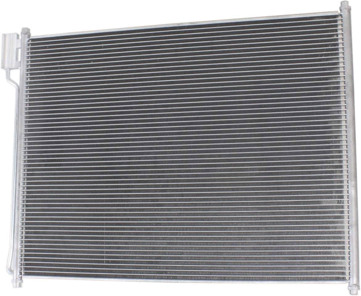 A//C Condenser Compatible with 1999-2007 Ford F-250 Super Duty//F-350 Super Duty and 2000-2005 Ford Excursion and 1999-2007 Ford F-450 Super Duty//F-550 Super Duty 5.4L//6.8L//7.3L Eng.
