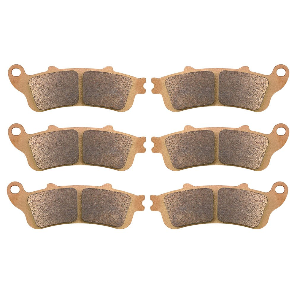AHL Front /& Rear Brake Pads Set for Honda ST1300 // ST1300 Pan European Sintered copper-based ABS /& Non ABS 2002-2007