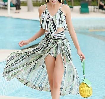 HOMEE Traje de baño Falda de Playa - Bikini de Verano Traje de ...