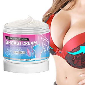 Breast Enhancement Cream-Natural Enhancer&Alternative to Surgery for Women-Natural Breast Enlargement-Firming and Lifting Cream