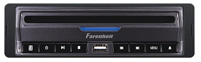 Farenheit DVD-39 in-Dash DVD / MP3 Player with USB and SD Card Slots 32GB