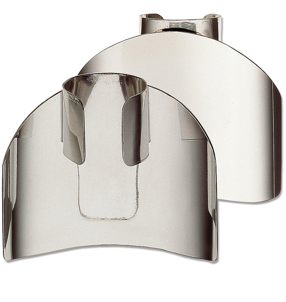 Deglon 59052 2-Inch Finger Guard Digiclass, Stainless Steel