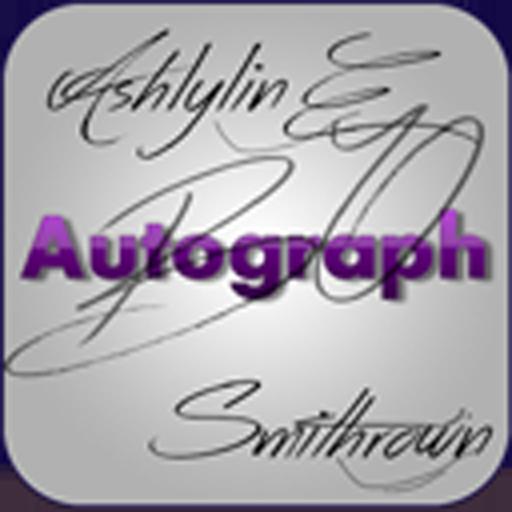 Digital Autograph Maker