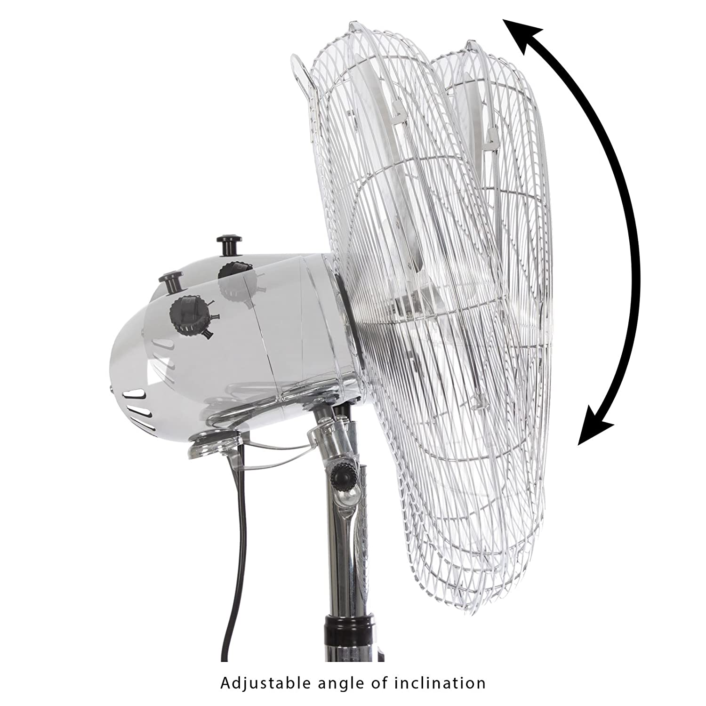 AEG VL 5525 Ventilador met/álico