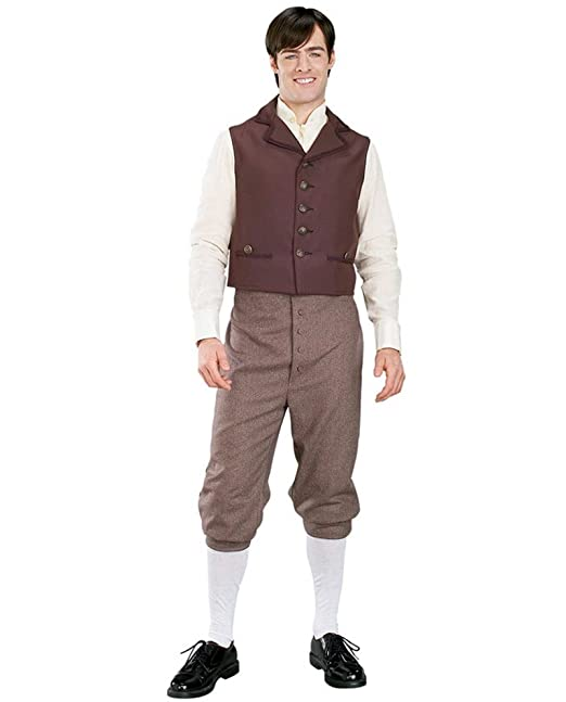 Men's 1900s Costumes: Indiana Jones, WW1 Pilot, Safari Costumes Mens Deluxe Titanic Traveler Costume $149.95 AT vintagedancer.com