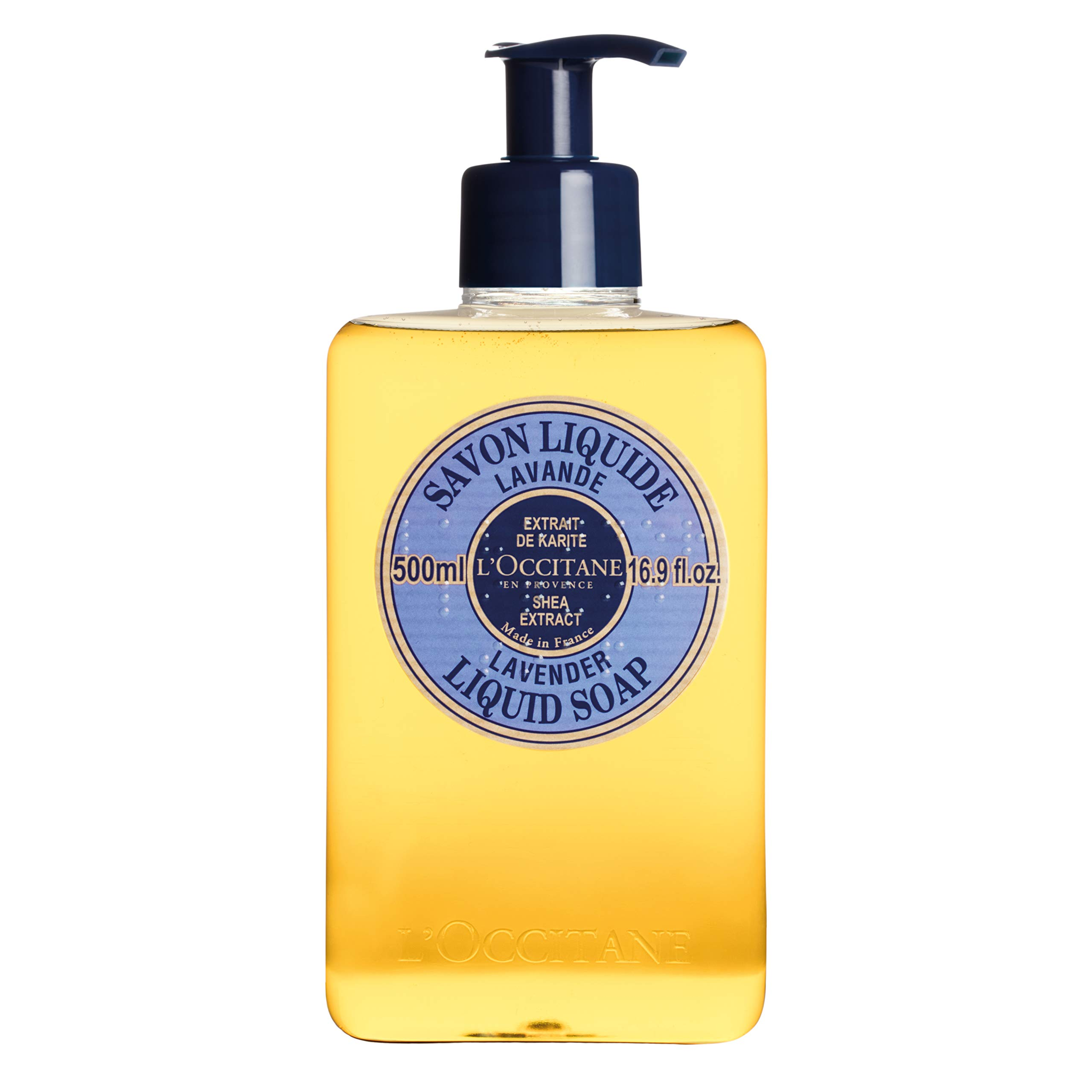 L'Occitane Shea Butter Lavender Liquid Hand Soap, Regualr, 16.9 Fl Oz