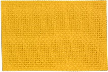 45x30x1 cm kela Set de Table Plato 45x30cm en PVC Plastique//Polyester Jaune