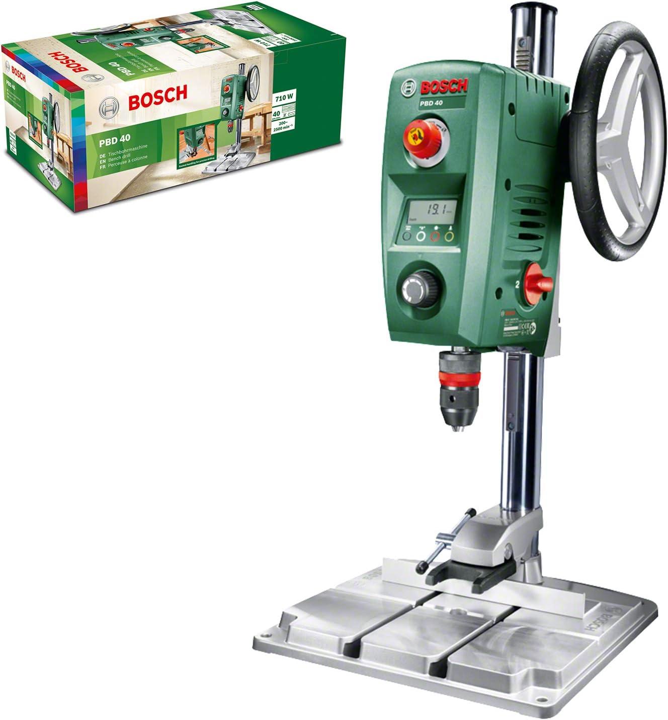 Bosch PBD 40 - Taladro de columna (710 W, caja de cartón): Amazon.es: Bricolaje y herramientas