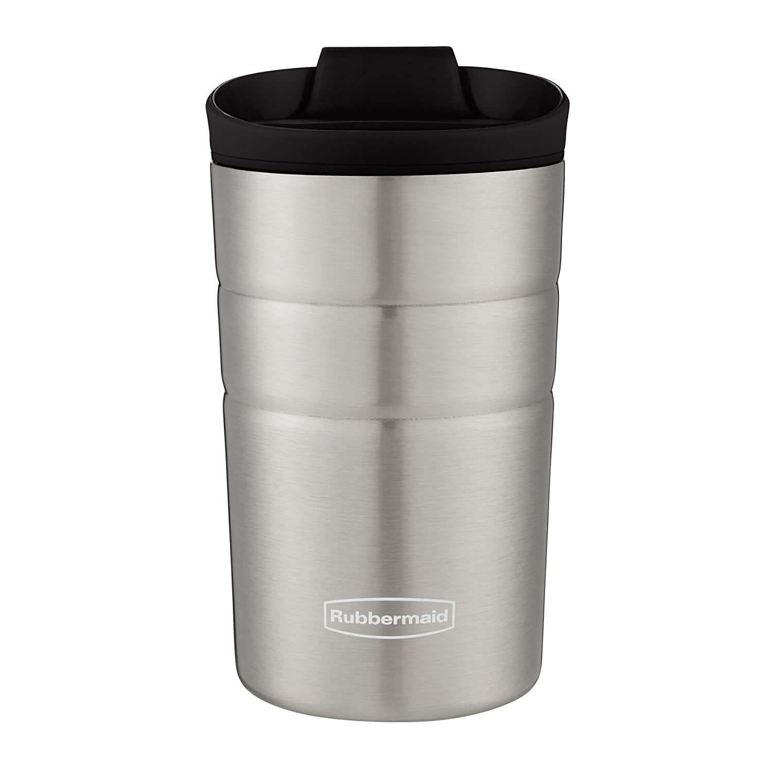 Rubbermaid Leak Proof Flip Lid Thermal Bottle, 10 oz., Black