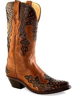 983163e048 Amazon.com | Old West Boots Women's LF1529 | Mid-Calf