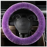 U&M Car Stretch-on Steering Wheel Cover Soft