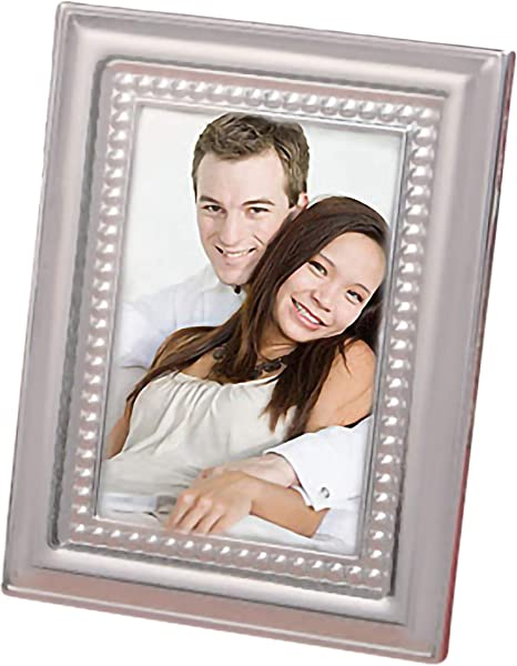 Amazon Com Fashioncraft 5706 Matte Silver Metal Place Card Photo Frames Wedding Favors Pack Of 72 Party Favors