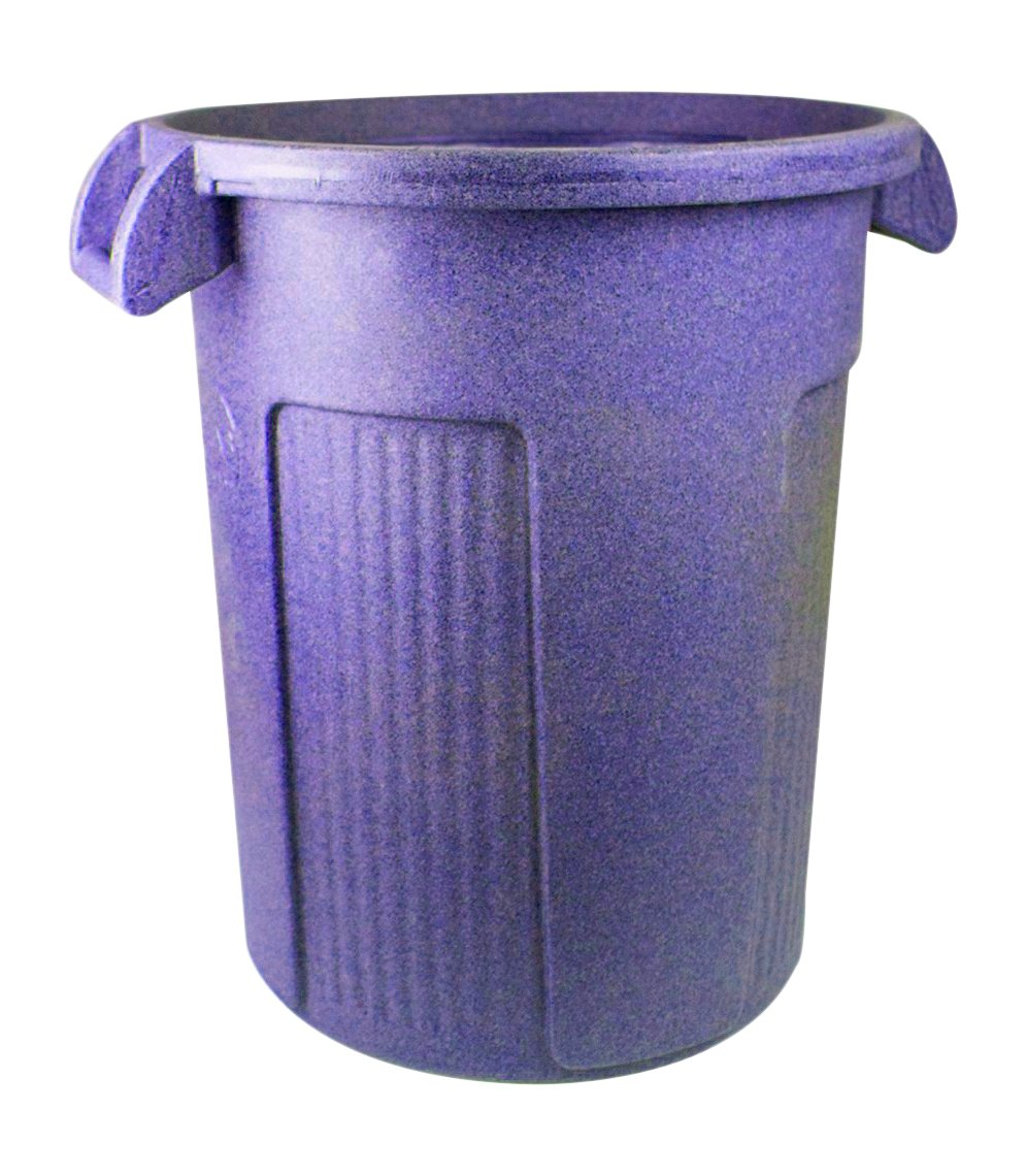 UltraSource Commercial Atlas Waste Container, 32 gal, Blue by UltraSource (Image #2)