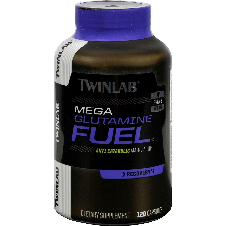 Twinlab Mega Glutamine Fuel, 120 Capsules