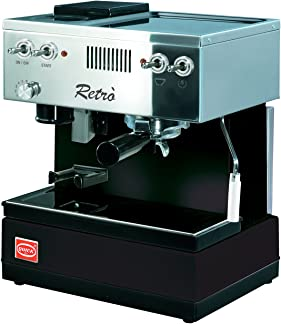 Quickmill Modell 0835 Retro auch in schwarz erhältlich