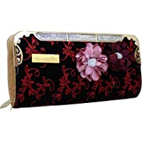 TIED RIBBONS Synthetic Designer Women's Clutch for Wedding, Party, Family Reunion (Multicolour)