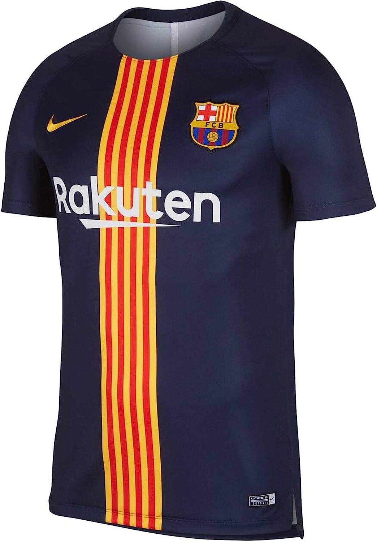 NIKE FC Barcelona Dry Squad - Camiseta Hombre: Amazon.es: Ropa y accesorios