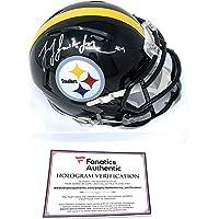 $125 » JuJu Smith Schuster Pittsburgh Signed Autograph Speed Mini Helmet Fanatics Authentic Certified