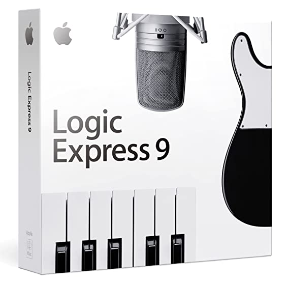 amazon com logic express 9 retail old version software rh amazon com Logic for PC Express Apple Logic Express