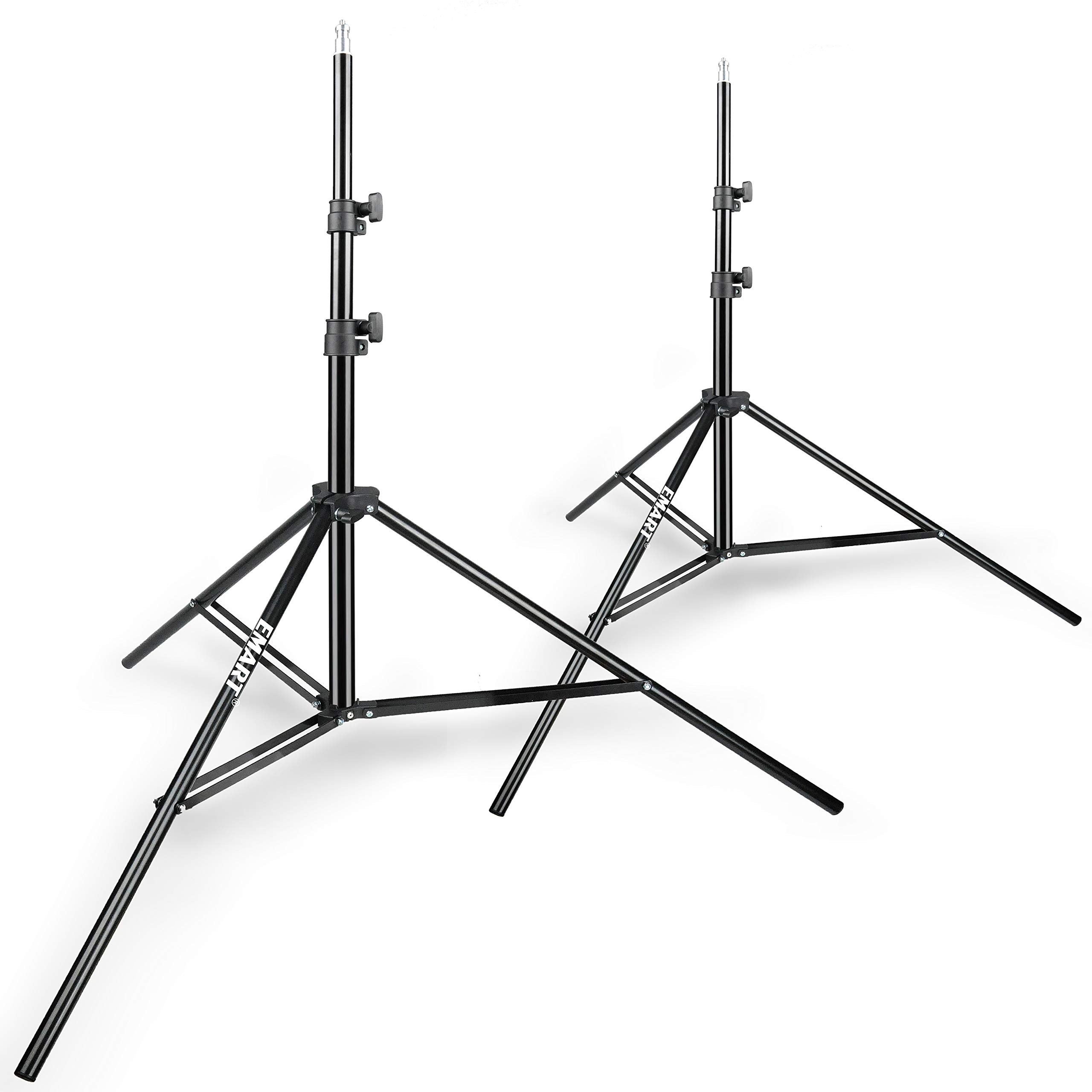 Emart 8.5ft Photography Light Stands for Photo Video Studio and Product Portrait Shooting - 2 Pack by EMART