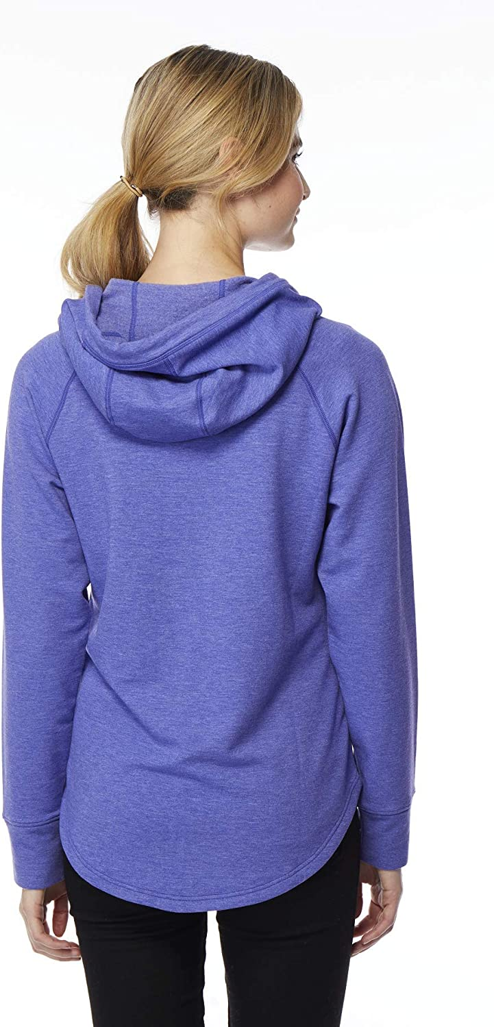 32 DEGREES Womens Faux Cashmere Full Zip Hoodie