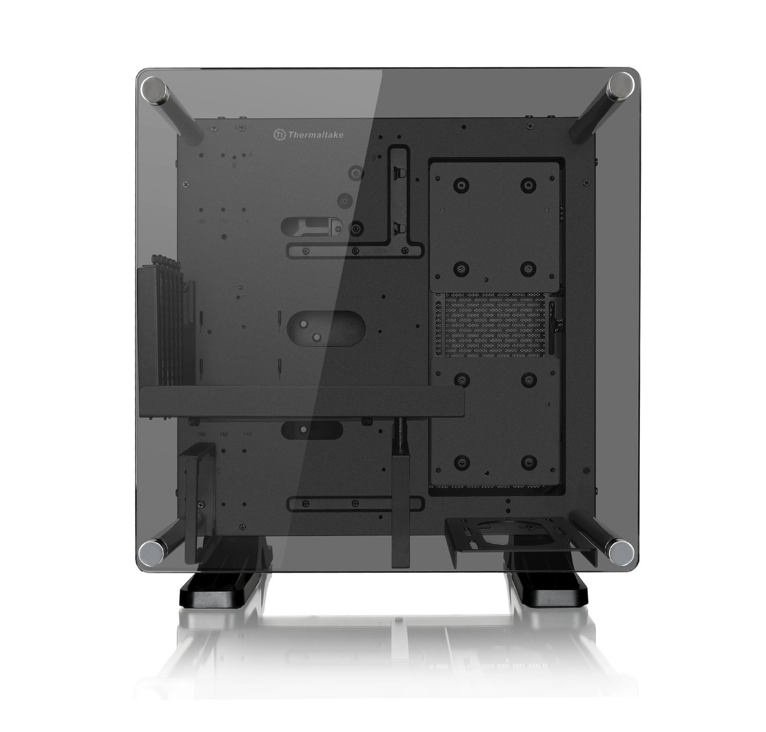 Thermaltake Core P1 Tempered Glass Edition Mini Itx Open P90 Frame Panoramic Viewing Tt Lcs Certified Gaming Computer Case Ca 1h9 00t1wn 00