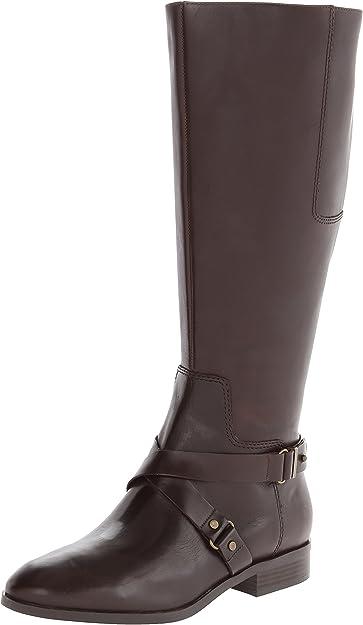 Blogger Wide-Calf Harness Boot   Knee-High