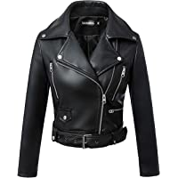 Amazon Best Sellers  Best Women s Leather   Faux Leather Jackets   Coats 2f066c449