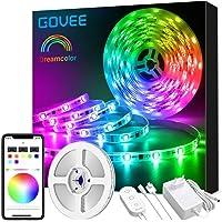 Govee Tiras LED RGBIC Dreamcolor 5m, IC Incorporada con APP Multicolor, Luces LED Flexible para Habitación, Bar, Fiesta
