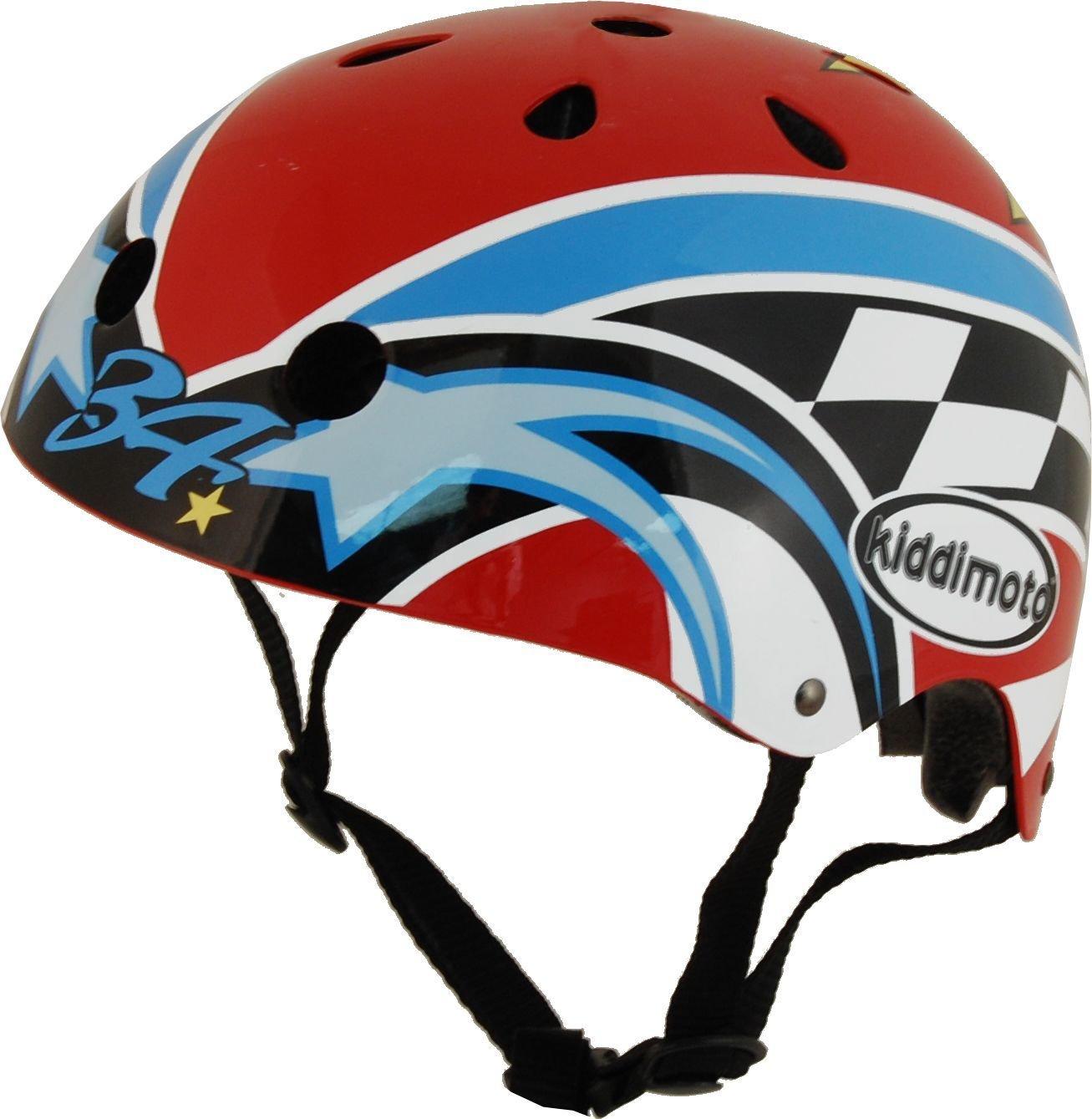 Multicoloured 48-52cm cm Kiddimoto Mens Small Hero Kinder Kevin Schwantz Helmet