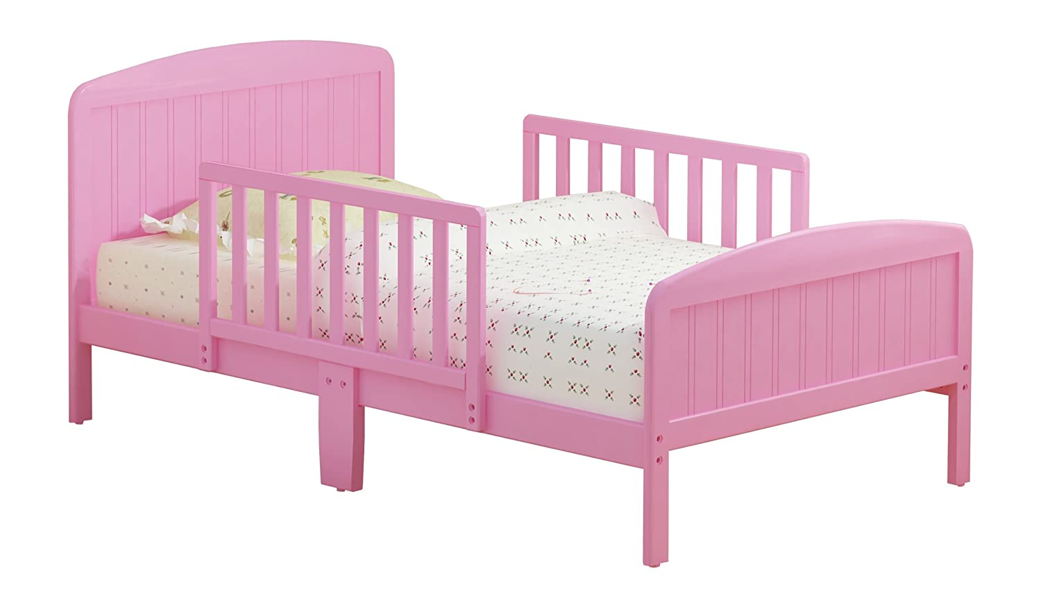 Amazon Com Russell Children Products Harrisburg Wood Toddler Bed Pink Kitchen Dining