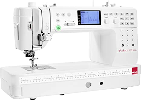 ELNA Máquina de coser Excellence 720 Pro – garantía 5 años: Amazon.es: Hogar