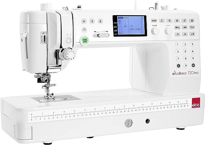 ELNA Máquina de coser Excellence 720 Pro – garantía 5 años: Amazon ...