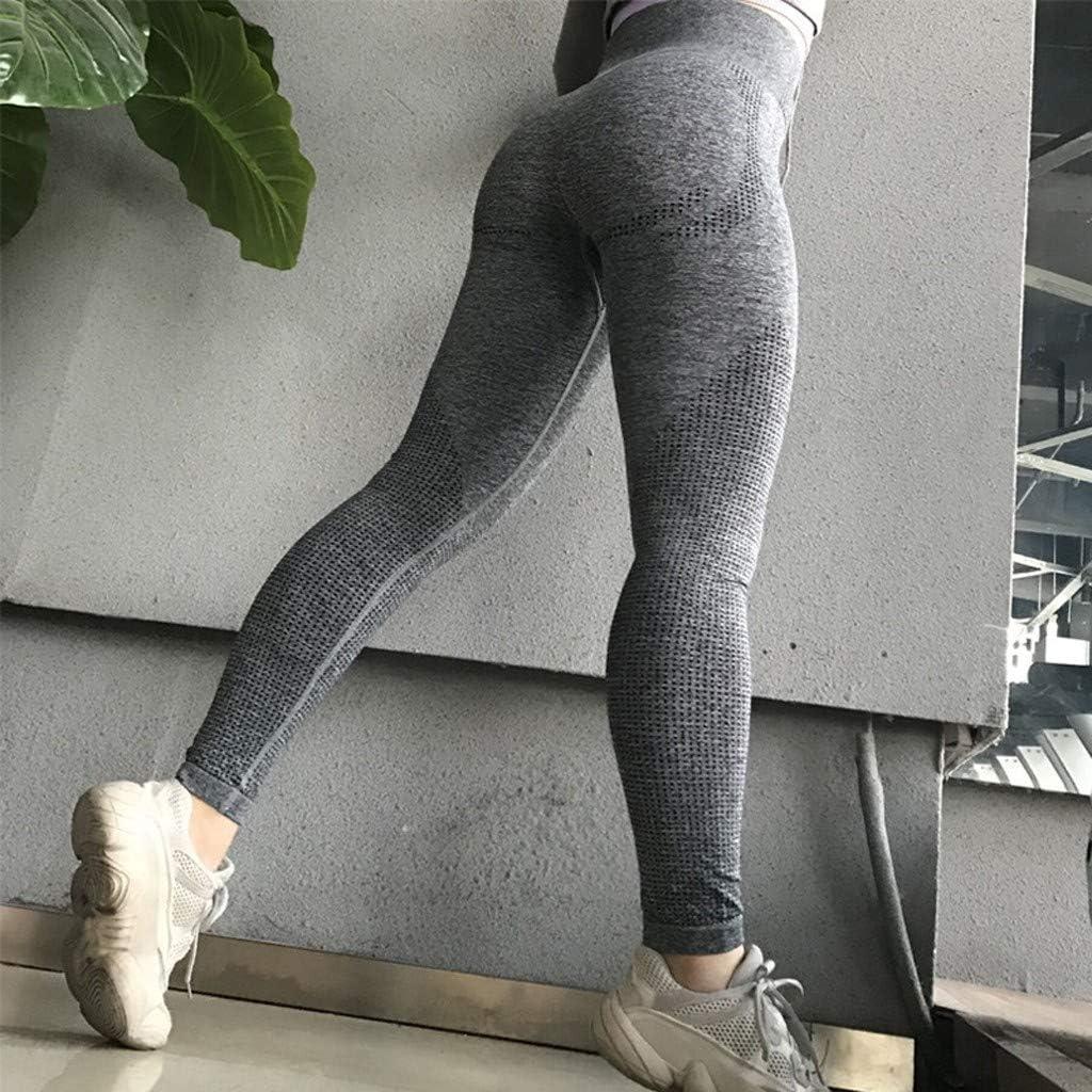 Yoga Pants for Women,Womens High Waist Yoga Pants Tummy Control Workout Running 4 Way Stretch Sports Leggings