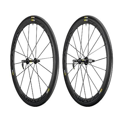 9f179ad3409 Amazon.com : Mavic Cosmic Carbone 40 Elite Wheelset - Clincher Black ...
