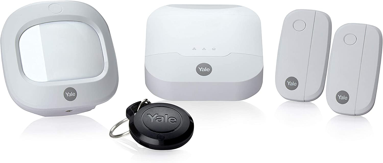 Grau Yale Smart Living BXG Yale AC-KF-Sync Alarm Externe Sirene