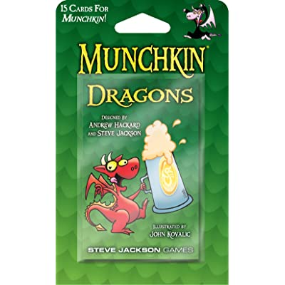 Steve Jackson Games Munchkin Dragons Booster Pack: Toys & Games
