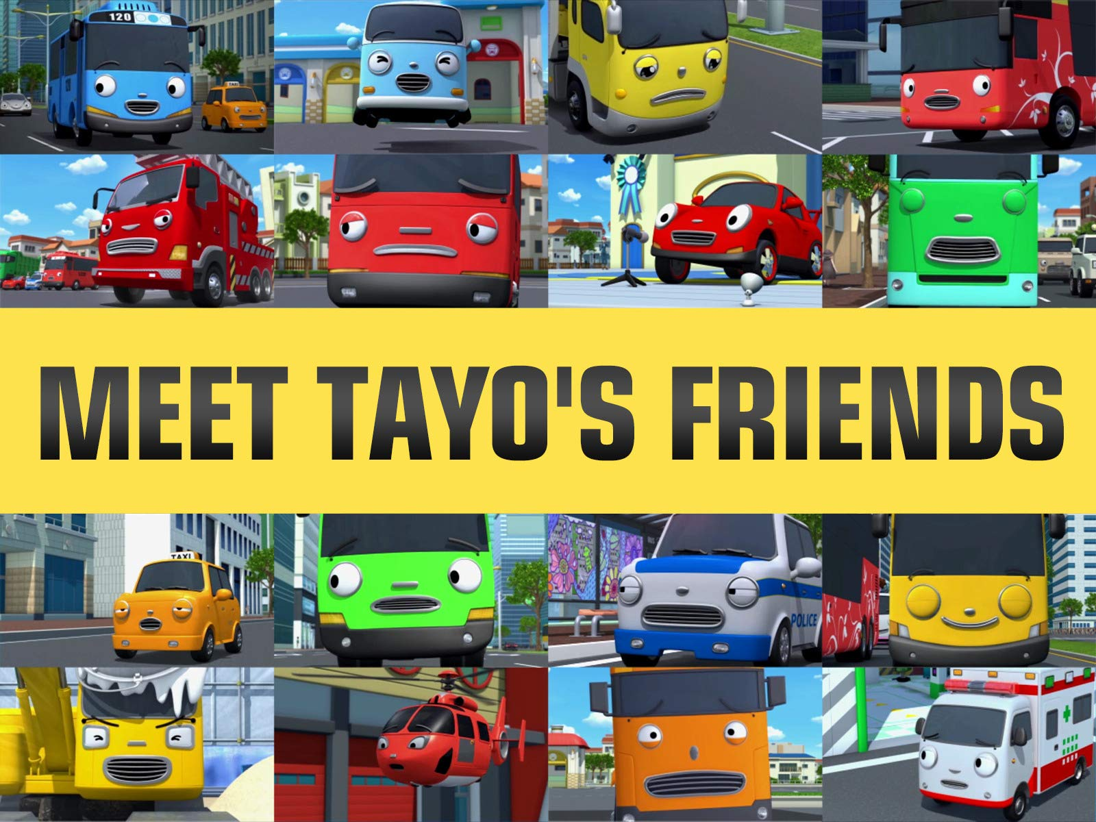 Meet Tayo's Friends on Amazon Prime Video UK