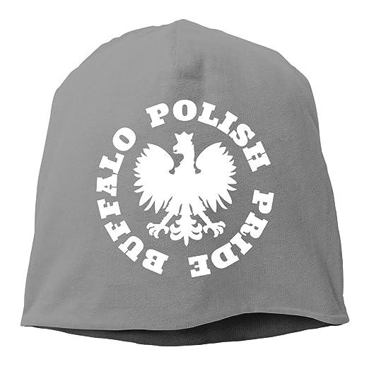 HRTSHRTE Polish Pride Unisex Skull Hat Knitted Hat Beanie Hats Cap ...