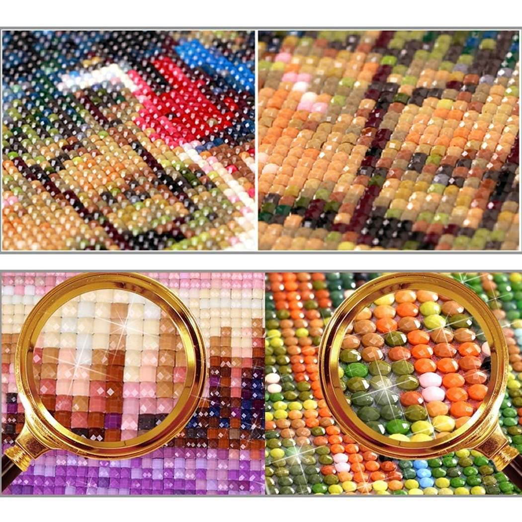 DIY 5D Diamond Painting Kit Full Drill Embroidery Rhinestone Arts Craft Canvas for Home Wall Decor Diamond Painting Kits for Adults 11.8 x 15.8 inch, Four Season Tree 11.8 x 15.8 inch