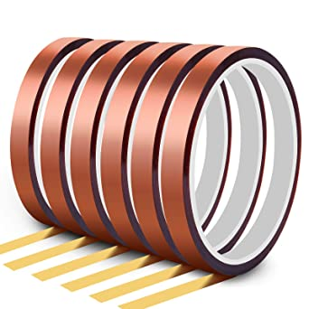 5 Pack Heat Tape Hight Temp Tape Sublimation Heat Resistant Temperature Tape