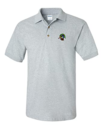 Wood Duck Custom Personalized Embroidery Embroidered Golf Polo Shirt