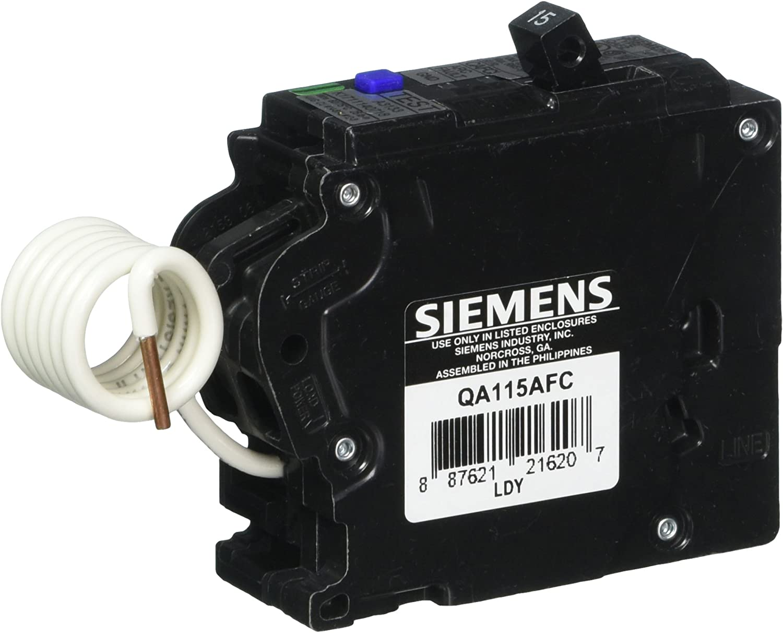 Brand New SIEMENS QA115AFC 15A ARC-FAULT CIRCUIT INTERRUPTER