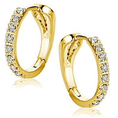 Orovi Woman Hoops Earrings 18 ct /750 Yellow Gold T74QZfRQR